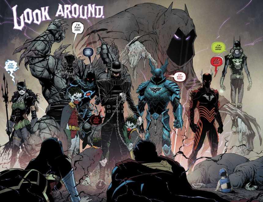 Barbatos and the Knightmare Batmen