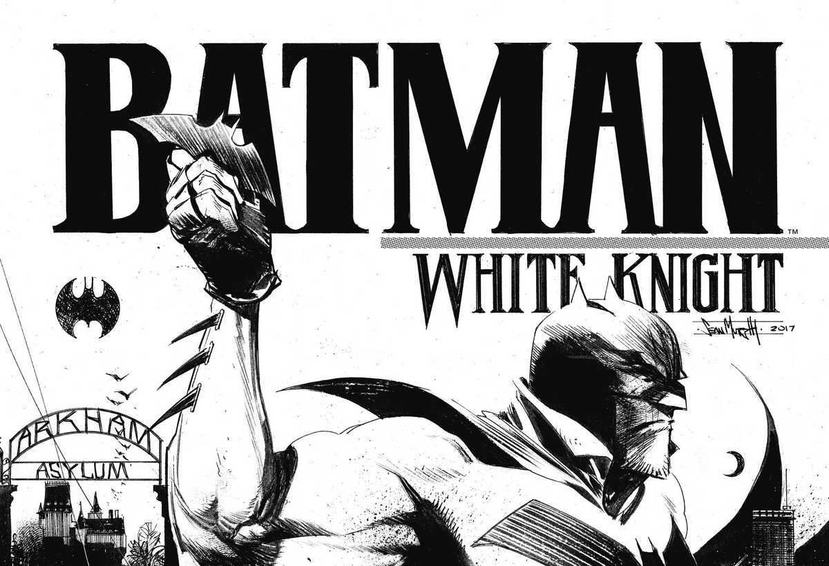 Review: BATMAN WHITE KNIGHT #1 (SPOILERS)