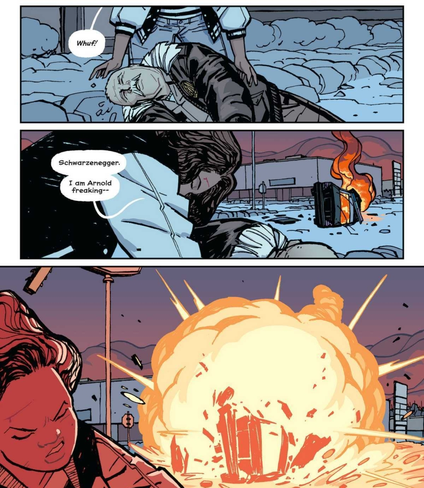 Paper Girls; Issue 17, Page 12