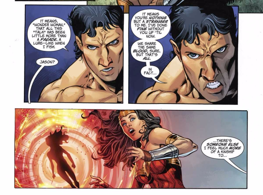 Wonder Woman, Jason and Grail