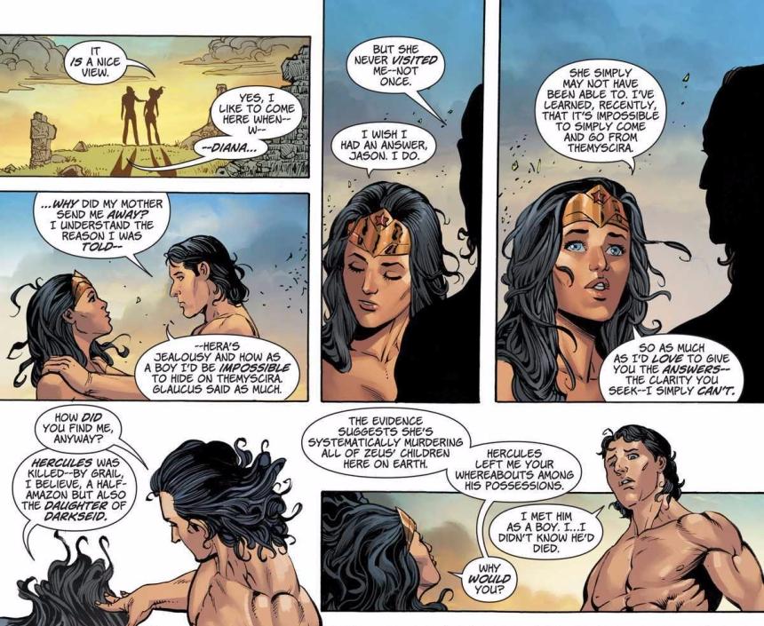 Wonder Woman and Jason