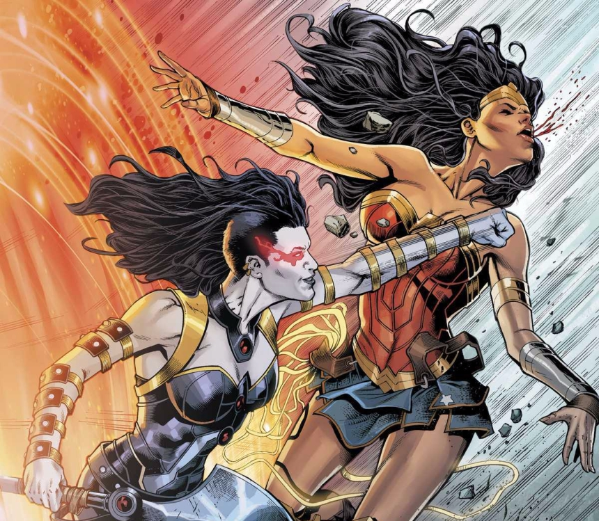 Wonder Woman and Grail